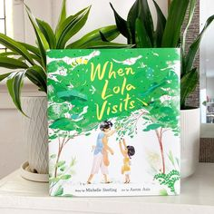 WHEN LOLA VISITS by Michelle Sterling and Aaron Asis. In an evocative picture book brimming with the scents, tastes, and traditions that define a young girl's summer with her grandmother, debut author Michelle Sterling and illustrator Aaron Asis come together to celebrate the gentle bonds of familial love that span oceans and generations. 📸 @bookbloom Picture Books, Oceans, Cool Pictures, Illustrator, Author, Summer, Fun, Summer Time, Writers