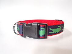 Dog collar personalized with name and by EastTexasEmbroidery