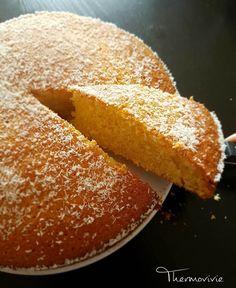 Moelleux coco citron, recette au thermomix