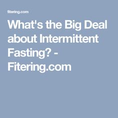 23 Best Fasting images in 2019 | Intermittent Fasting, Diet