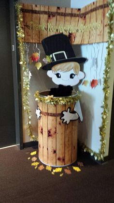 33 Best Food Drive Collection Barrel Decorating Images