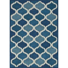 @Overstock.com - Hand-tufted Logan Cobalt Blue Wool Rug (9'3 x 13') - The striking Logan Rug sets the new standard for boldly patterned rugs. Hand-tufted in India of 100-percent wool, this rug is crafted with a cut and loop pile blend to create visual interest. Logan is an eye-catching design that will fit any home d�cor.  http://www.overstock.com/Home-Garden/Hand-tufted-Logan-Cobalt-Blue-Wool-Rug-93-x-13/8129954/product.html?CID=214117 $790.99