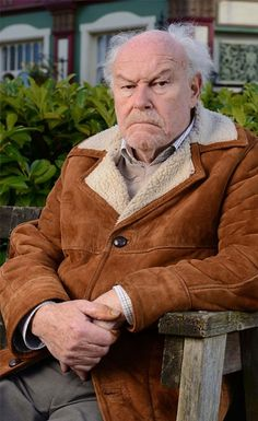 Timothy West CBE Born: October 1934 played Stan Carter in EastEnders 2014 - Kellie Bright, Mick Carter, Eastenders Cast, Timothy West, Soap Stars, Bbc One, Iconic Characters, Me Tv, Old Women