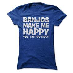 Banjos Make Me Happy