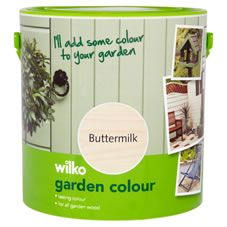 Wilko Garden Colour Buttermilk 2.5L