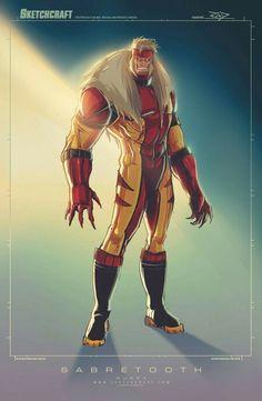 Sabretooth •Rob Duenas (SketchCraft)