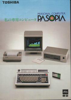 Toshiba Pasopia (1981).