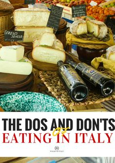 Italian food in a Florence food market. Find out how to get your money's worth and not get ripped off eating in Italy with the Walks of Italy guide to Italian food.