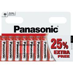Panasonic AA Batteries 10 Pack