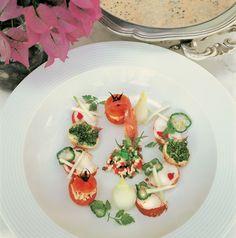 Lobster gazpacho from El Bulli