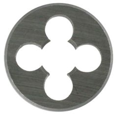 "1"" Overall Diameter Solid Round Dies at only $6.18 with Descotools.com."