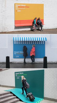 put ads here, Awesome marketing! Obviously I'm a marketing major nerd. Ads with a purpose - IBM Street Marketing, Guerilla Marketing, Marketing And Advertising, Billboards Advertising, Experiential Marketing, Email Marketing, Content Marketing, Ogilvy Mather, Graffiti