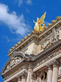 Golden Angel, Paris Opera House