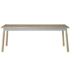 you find a big table for work, for gathering friends and family, Muuto table.