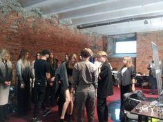 Backstage pokau MMC. Fall/winter 2015.