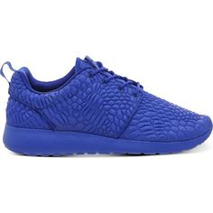 new style a0aa9 58ad3 NIKE Roshe Run Diamondback trainers ( 140) ❤ liked on Polyvore featuring  shoes, sneakers, nike, racer blue dmb, grip shoes, laced shoes, traction  shoes and ...