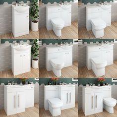 Bathroom Vanity Unit Basin Sink Toilet Bathroom Combined Furniture Suite · $312.99 Toilet Vanity Unit, Freestanding Vanity Unit, Bathroom Vanity Units, Combination Vanity Units, Basin Sink, Bathroom Renos, Toilet Paper, The Unit, Furniture