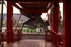 Du 30 avril au 28 juillet 2014 - Galerie Sud Centre Pompidou expo Bernard Tschumi Architect. Paris. 1982-1998.