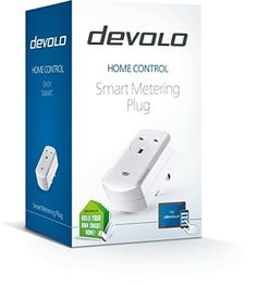devolo Home Control Smart Metering Plug Home Automation via iOSAndroid App Smart Home Actor Metering Socket Smart Switch Current Measurement Function Z Wave  White by Devolo >>> Want additional info? Click on the image.