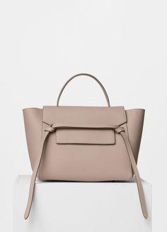 Mini Belt Bag in Light Taupe Grained Calfskin - Céline Celine Belt Bag Mini 258700a8463bd