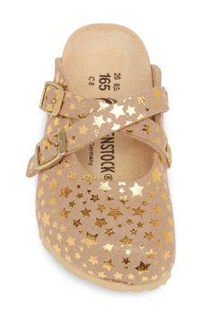 a0c74da2b8a9 Birkenstock - Dorian Starry Gold Clog (Toddler   Little Kid) - Discontinued  is now