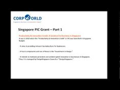 What is PIC and how does PIC Grant helps businesses in Singapore?