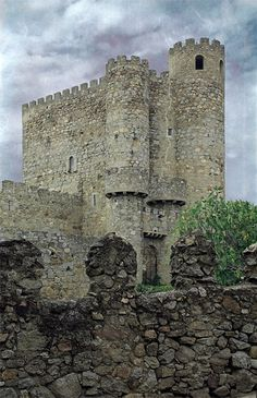 Castillo de San Martín de Valdeiglesias, Madrid. Spain.