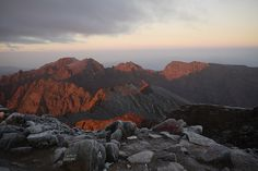 Sunrise at Mt. Toubkal, Morocco. This is why it's ALWAYS worth leaving at 1am for a summit push!