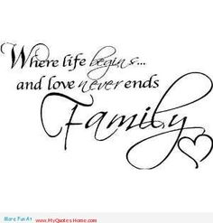 Memorial Tattoo Ideas Lost Sibling | the whole life never endless love to my family - life love for family ...