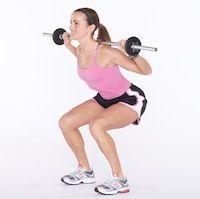 Faire des squats pour lutter contre la cellulite