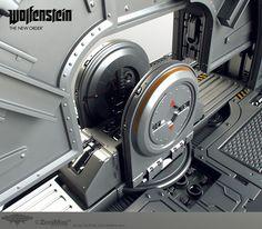ArtStation - Wolfenstein: Moon Door, Tor Frick