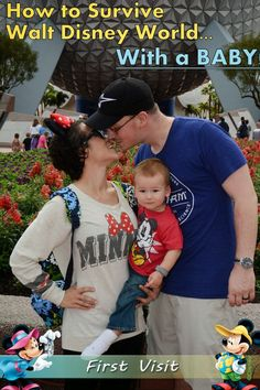 How to survive Disney World with a baby! Great tips that are very doable.