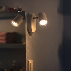 Philips Hue Adore LED Spot Weiß 1flg. White Ambiance 250lm inkl. Dimm... | PHILIPS Hue | 3435931P7 - click-licht.de #light #licht #leuchte #interieurdesign #interieur #lampe #dekoration #dekoideen #philips #philipshue #smarthome #smartlighting #led #interior #wohnzimmer #esszimmer #schlafzimmer #kueche #flur   #innenleuchten #beleuchtung #leuchte #light
