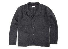 Apolis   Boiled Wool Blazer