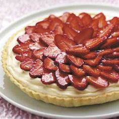 Strawberry Tart Recipe from Taste of Home -- shared by Dawn Tringali of Hamilton Square, New Jersey