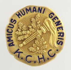 Kings County Hospital College 1967 Nursing Badge - 14k Yellow Gold Vintage Pin #Ring