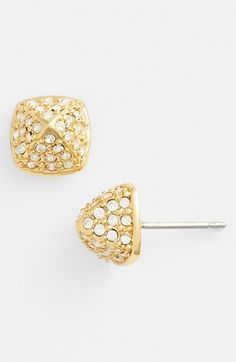 Vince Camuto 'By the Horns' Pavé Stud Earrings   Nordstrom
