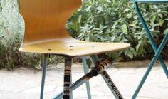 Formsitz: Upcycling Design-Stühle aus alten Fahrradrahmen
