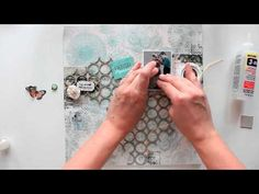 Scrapbooking layout 'Everyday moments' tutorial from Elena Morgun - YouTube