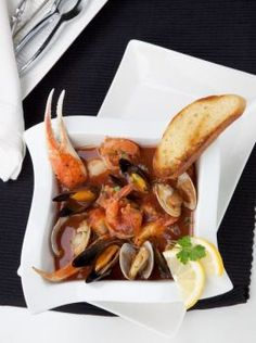 Soup Recipe Cioppino Stew - 12 Tomatoes