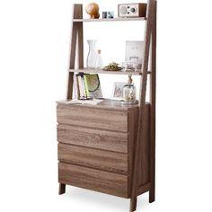 【半完成品】 キッチン収納 食器棚 カップボード 収納棚 オープン棚 チェスト ダークブラウン
