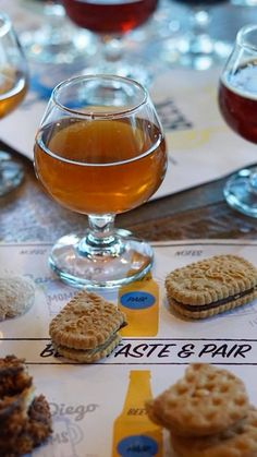 Beer and Girl Scout cookie pairing plus FREE printable