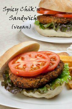 Spicy Chik'n Sandwich from That Was Vegan? #vegan