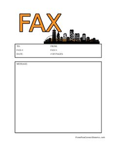 Fun For Copyeditors And Teachers This Proofing Fax Cover Sheet
