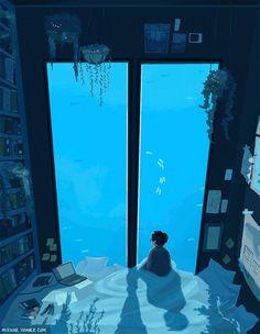 miyasaki Bathroom Decoration bathroom decorating ideas on a budget Art Anime, Anime Kunst, Pixel Gif, Watercolor Clipart, Illustration Art, Illustrations, Aesthetic Gif, Aesthetic Drawing, Aesthetic Grunge