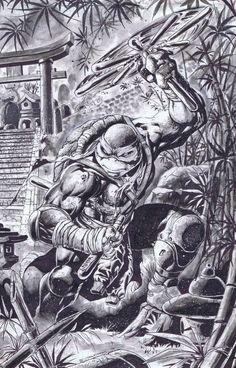 The Cyber Wolf ! — Ninja Turtles - Fan Art Created by Emil. Ninja Turtles Art, Teenage Mutant Ninja Turtles, Tmnt, Comic Books Art, Comic Art, Fan Art, Gi Joe, Michelangelo, Cartoon Art