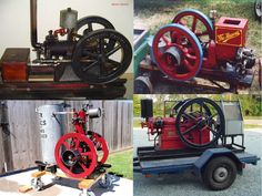 Antique Hit & Miss Gas Engines