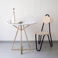 #chmararosinke #design #cucinafuturista#steeltube#chair #glass#wineglass#table#brass#marble#viennadesignweek presentation of cucina futurista 2.0 is coming soon