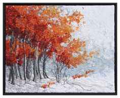 Early Snow 7 Tapestry - Textile