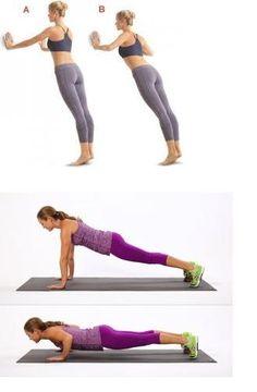 ejercicio para aumentar el busto